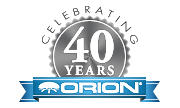 Orion 40 års logo